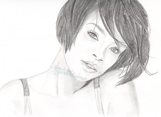 Rihanna by staretheshadow